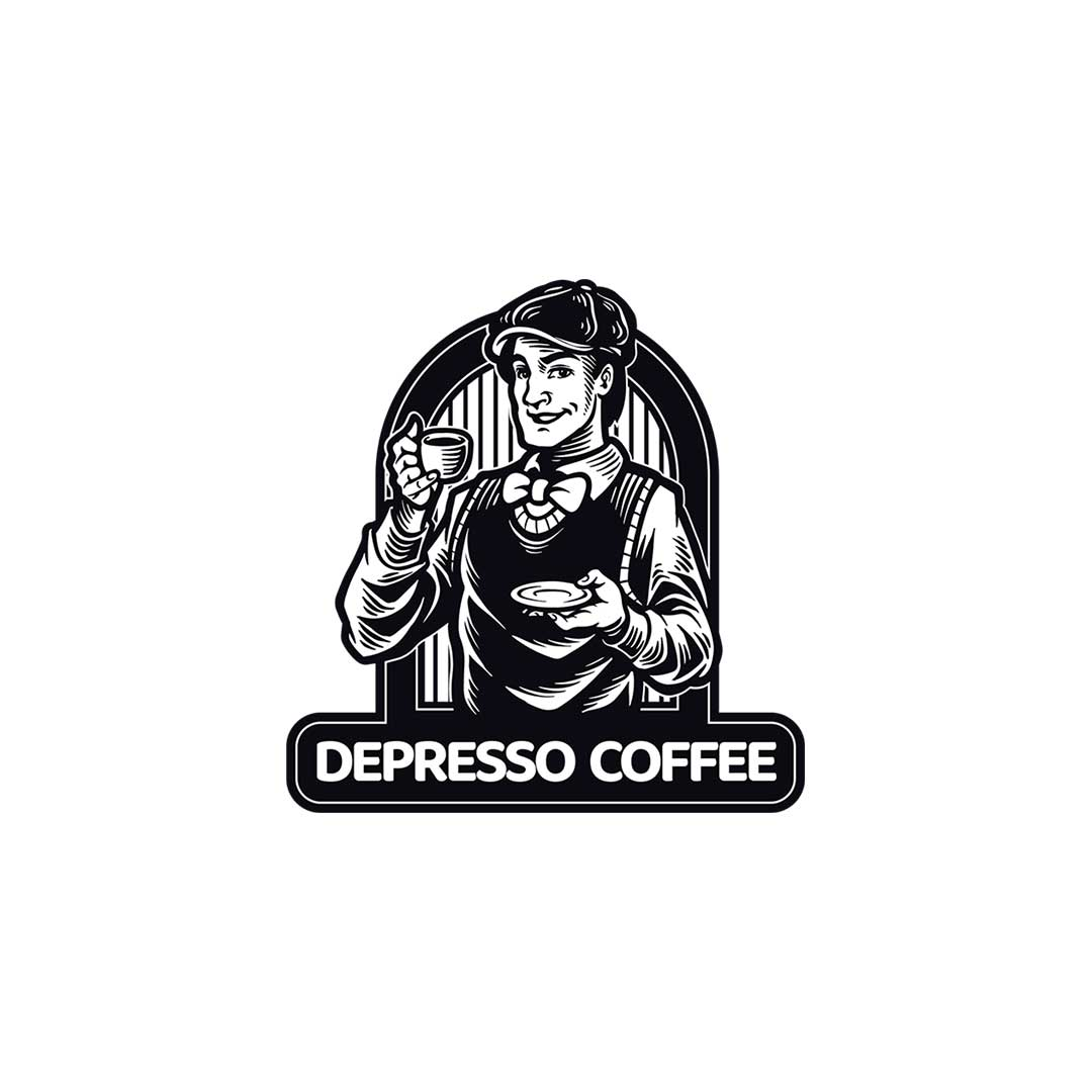 Depresso Coffee Logo
